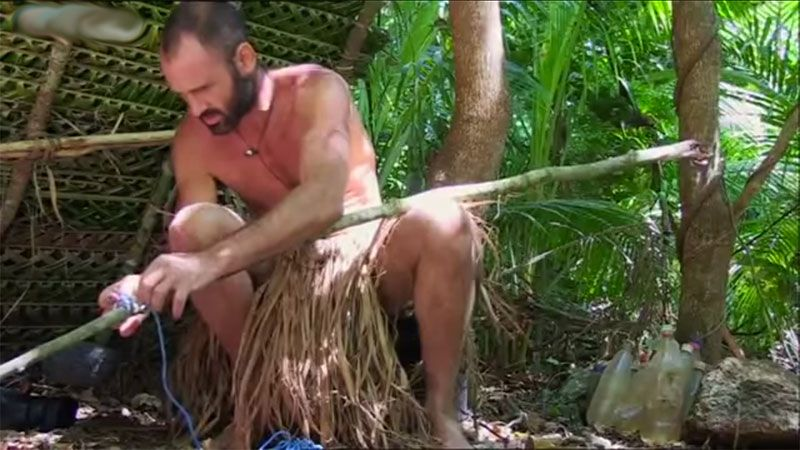 Bow and Arrow, Ed Staffor Naked and Marooned