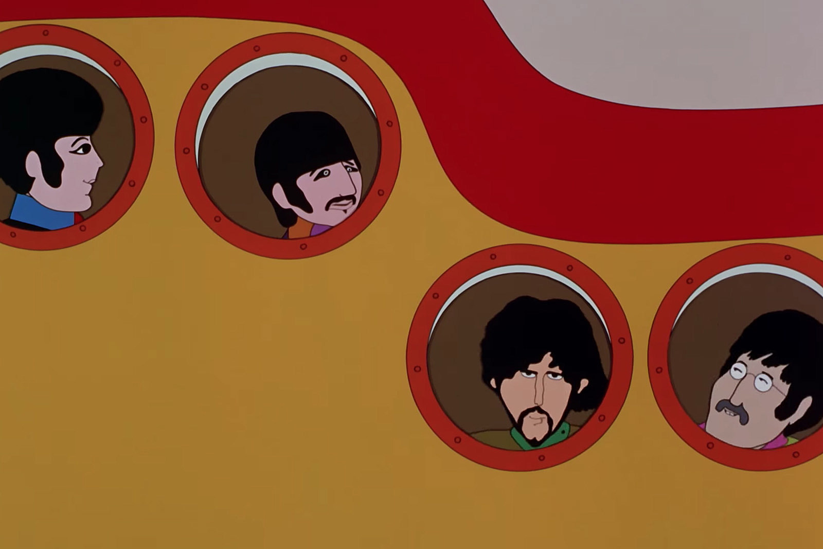 Image result for yellow submarine film images