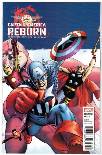 Captain America Reborn #4 1:25 John Cassaday Variant Marvel 2009 VF/NM