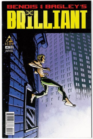 Brilliant #4 1:15 Michael Avon Oeming Variant Marvel Icon 2011 Bendis VF/NM