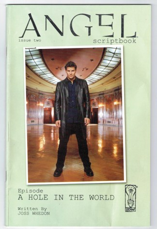 Angel Scriptbook #2 Photo Variant Cover 2006 IDW Buffy Whedon VF/NM