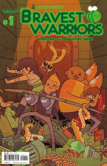 Bravest Warriors #1 Cover B Maris Wicks Variant Pendleton Ward 2012