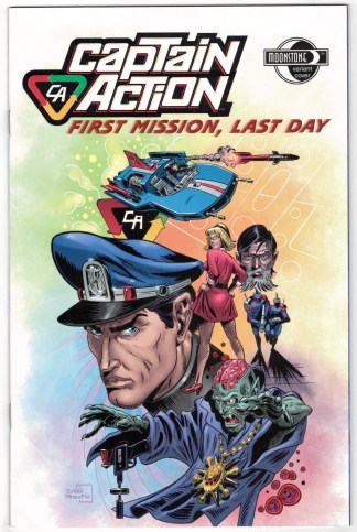 Captain Action First Mission Last Day #0 Procopio Variant 2008 Nicieza VF/NM