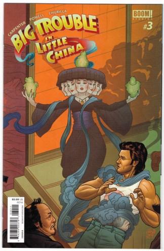 Big Trouble In Little China #3 1:10 Joe Quinones Variant Boom 2014 VF/NM