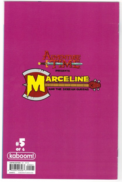 Adventure Time Marceline and Scream Queens #5 1:15 Kate Leth Variant VF/NM