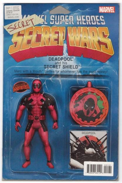 Deadpool's Secret Secret Wars #1 JT Christopher Action Figure Variant Marvel VF/NM