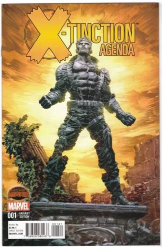 X-Tinction Agenda #1 1:25 Deodato Variant Marvel X-Men Secret Wars 2015 VF/NM