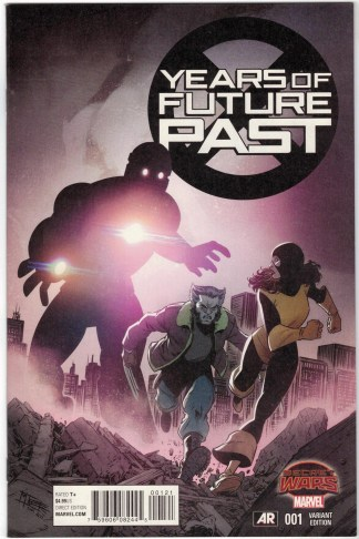 Years of Future Past #1 1:25 Mike Norton Variant Secret Wars Marvel 2015 VF/NM