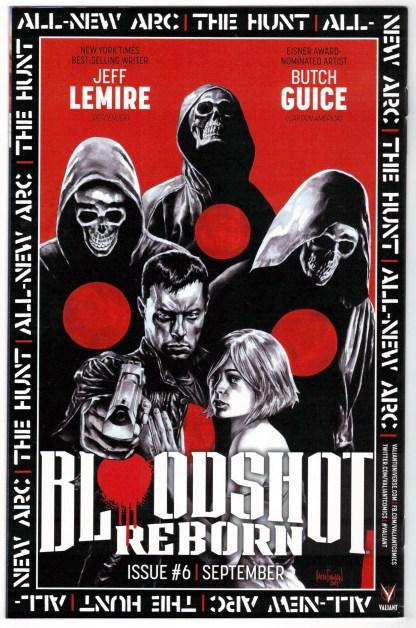 Bloodshot Reborn #5 1:20 Kano Variant Valiant 2015 VF/NM