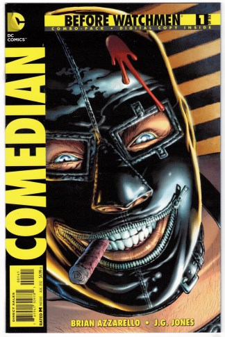 Before Watchmen Comedian #1 Digital Combo Pack Variant UNBAGGED DC 2012 VF/NM