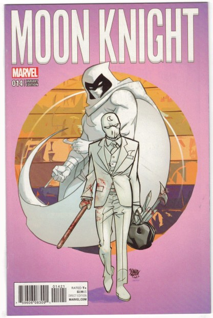 Moon Knight #14 1:25 Pasqual Ferry Variant Marvel 2016 VF/NM