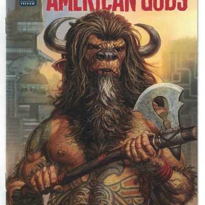 American Gods Neil Gaiman Ashcan Variant Darkhorse 2016 VF/NM