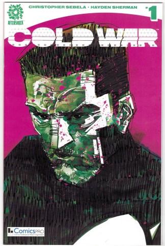Cold War #1 Comicspro Exclusive Variant Aftershock 2018 Chris Sabella VF/NM