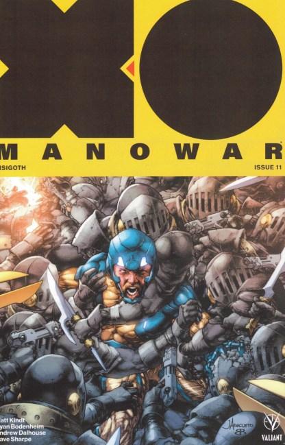 X-O Manowar #110 1:50 Jay Anacleto Variant Valiant 2017 Matt Kindt