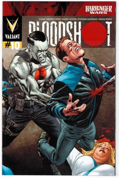 Bloodshot #10 1:20 Lewis LaRosa Variant Valiant 2012 Harbinger Wars VF/NM