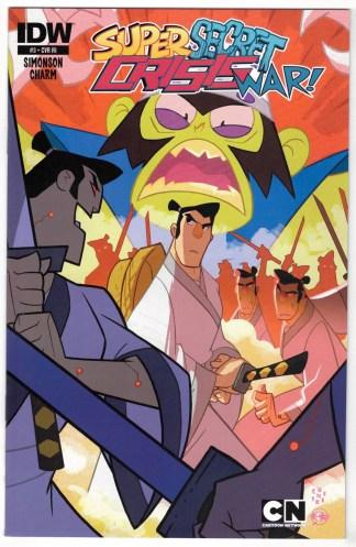 Cartoon Network Super Secret Crisis War #3 1:10 Galloway Variant 2014 VF/NM