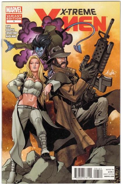 X-Treme X-Men #1 1:20 Salvador Larroca Variant Marvel 2012 Emma Frost VF/NM