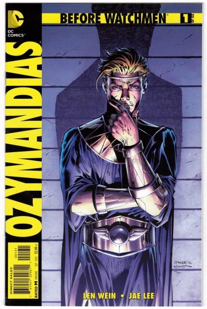 Before Watchmen Ozymandias #1 1:200 Jim Lee Variant DC Comics 2012 VF/NM