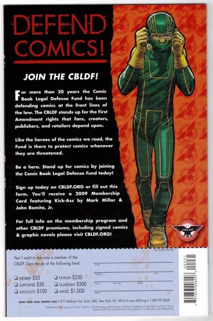 CBLDF Presents Liberty Comics #2 Jim Lee Variant Image 2008 VF/NM