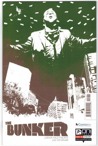 Bunker #1 Andrea Sorrentino ComicsPro Variant Oni Press 2014 VF/NM