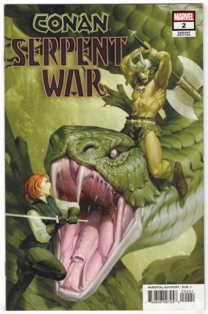 Conan Serpent War #2 1:50 Jung-Geon Yoon Variant Marvel 2019 Moon Knight VF/NM