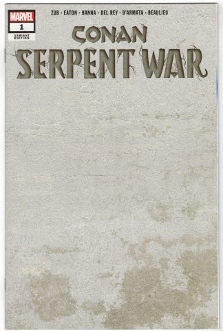 Conan Serpent War #1 1:200 Stone Variant Marvel 2019 VF/NM