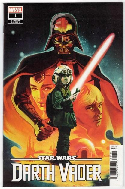 Star Wars Darth Vader #1 1:100 Michael Del Mundo Variant Marvel 2020 VF/NM