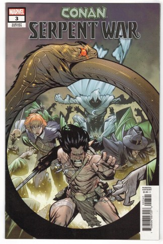Conan Serpent War #3 1:50 Kim Jacinto Variant Marvel 2019 VF/NM