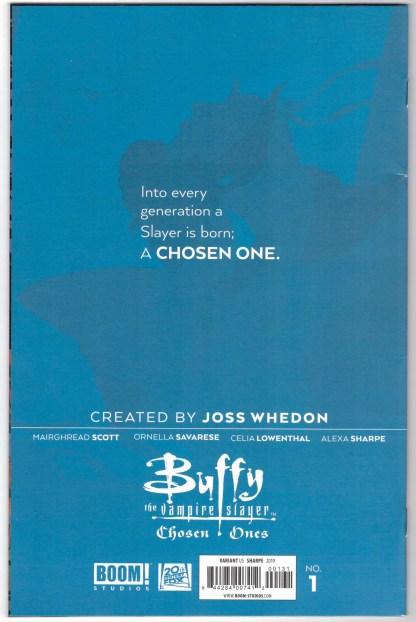 Buffy the Vampire Slayer Chosen Ones #1 1:25 Lowenthal Variant Boom 2020 VF
