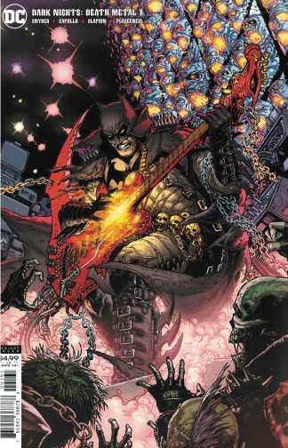 Dark Nights Death Metal #1 1:25 Doug Mahnke Batman Cardstock Variant DC 2020
