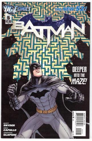 Batman #5 1:25 Chris Burnham Variant DC 2011 New 52 VF/NM