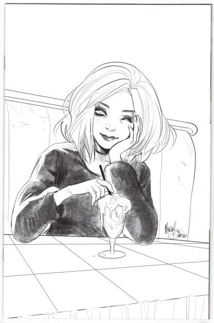 Buffy the Vampire Slayer Willow #1 1:25 Mirka Andolfo B&W Variant 2020 VF/NM
