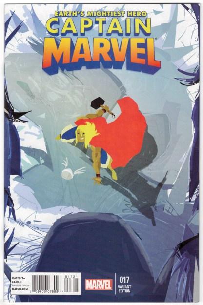 Captain Marvel #17 1:20 Pascal Campion Variant 2015 2nd Ms Kamala Khan VF/NM