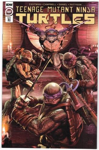 Teenage Mutant Ninja Turtles #107 1:10 Alex McArdell RI Variant IDW TMNT VF/NM