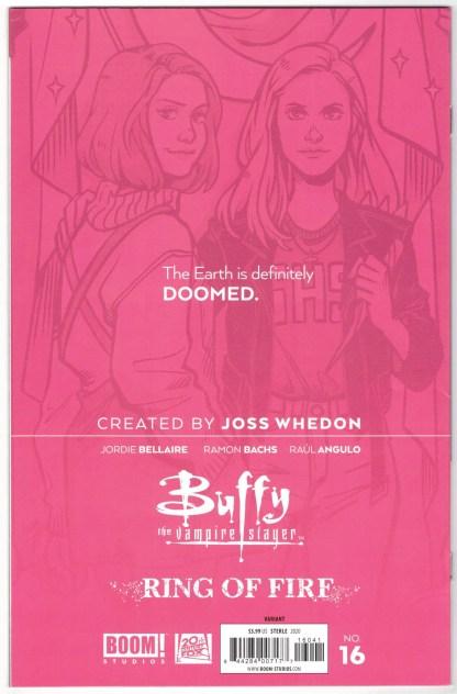 Buffy the Vampire Slayer #16 1:25 Lisa Sterle Variant Boom 2019 VF/NM