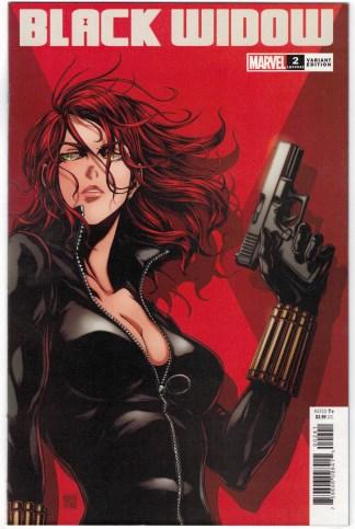 Black Widow #2 1:25 Takashi Okazaki Variant Marvel 2020 VF/NM
