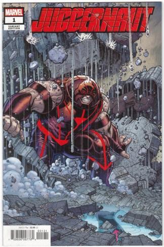 Juggernaut #1 1:50 Nick Bradshaw Variant Marvel 2020 VF/NM