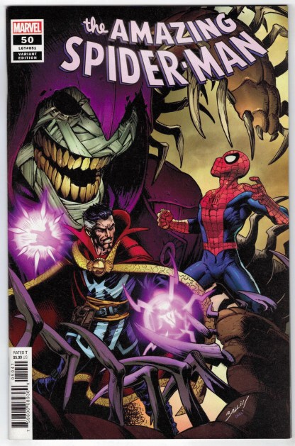 Amazing Spider-Man #50 1:50 Mark Bagley Variant Marvel 2018 Last Remains VF/NM