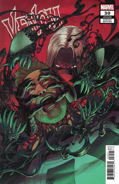 Venom #30 1:25 Aaron Kuder Variant Venom Beyond Finale Marvel 2018