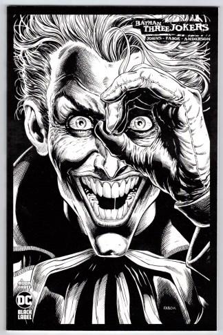 Batman Three Jokers #3 1:00 Jason Fabok B&W Sketch Variant DC 2020 VF/NM