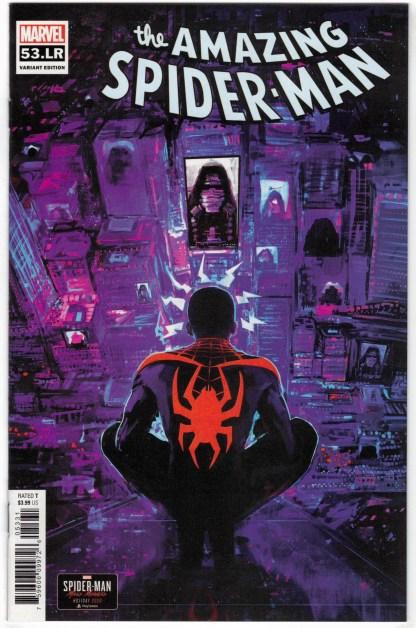 Amazing Spider-Man #53 LR 1:10 Miles Morales Variant Marvel 2018 VF/NM