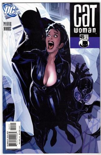 Catwoman #45 Adam Hughes Variant DC 2002 Will Pfeifer VF/NM