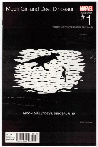 Moon Girl and Devil Dinosaur #1 Jeffery Veregge Hip Hop Variant Marvel 2015 VF/NM