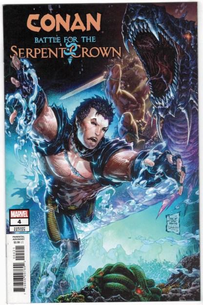 Conan Battle Serpent Crown #4 1:25 Philip Tan Variant Marvel 2020 VF/NM