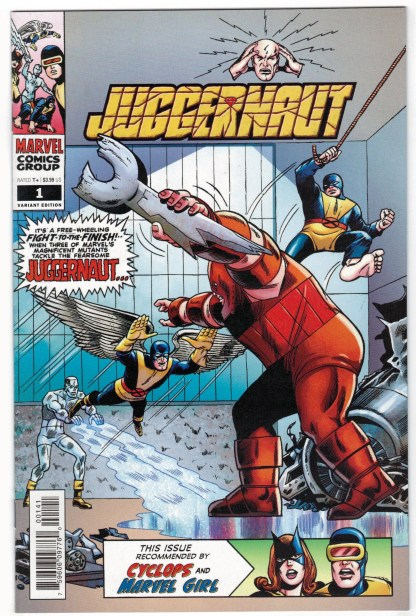 Juggernaut #1 1:100 Werner Roth Hidden Gem Variant Marvel 2020 VF/NM