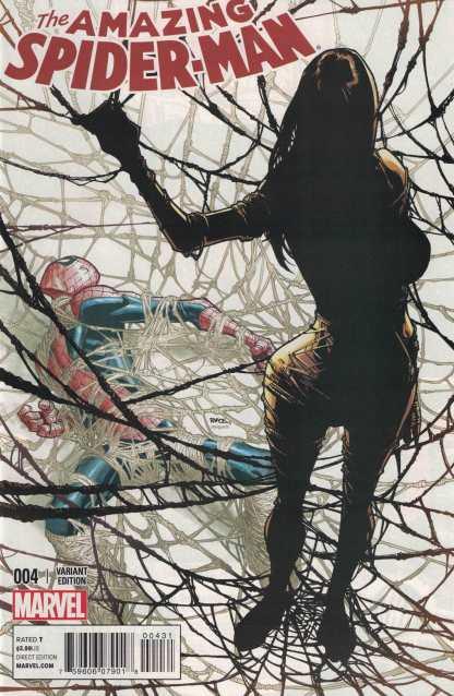 Amazing Spider-Man #4 1:10 Ramos Variant ANMN 2014 First Silk