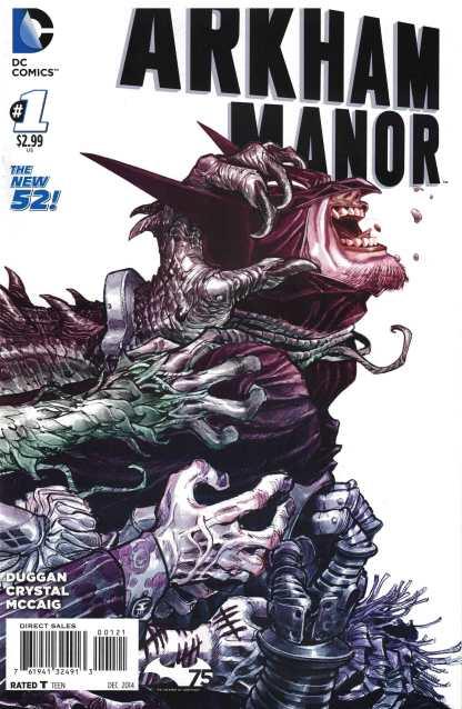 Arkham Manor #1 1:25 Eric Canete Variant Batman DC Comics 2014