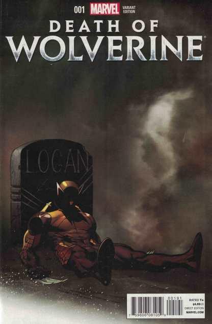 Death of Wolverine #1 Retailer Exchange McGuinness Mortal Variant