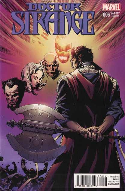 Doctor Strange #6 1:16 Guice Classic Variant Marvel ANAD 2015