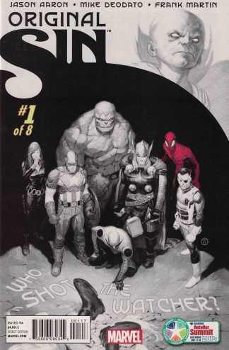 Original Sin #1 Diamond Retailer Summit Exclusive Variant Marvel 2014